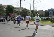 Belgrade maraton 2014 Fotografia Stock