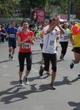 Belgrade maraton 2014 Obraz Royalty Free