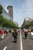 Belgrade maraton 2014 Fotografering för Bildbyråer