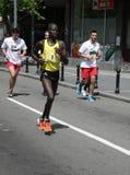Belgrade maraton 2014 Arkivfoton
