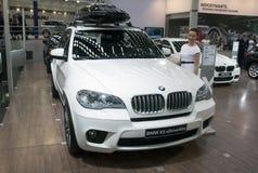 汽车BMW X5 xDrive40d 免版税库存照片