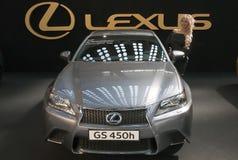 汽车Lexus GS 450h 图库摄影