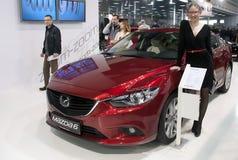 Bil Mazda 6 Arkivbilder