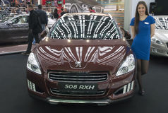 Bil Peugeot 508 RXH Fotografering för Bildbyråer