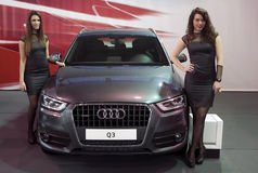 Car Audi Q3 Royalty Free Stock Image