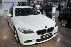 Car BMW 520d Royalty Free Stock Photos