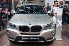 Car BMW X3 xDrive20d Stock Photography