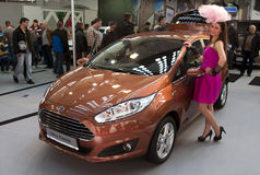 Car Ford New Fiesta Stock Images