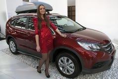 Car Honda New CR-V Royalty Free Stock Images