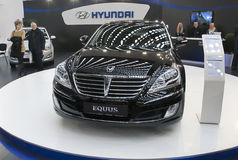 Car Hyundai Equus Royalty Free Stock Photos
