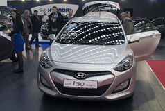 Car Hyundai New i30 Wagon Royalty Free Stock Photos