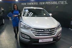 Car Hyundai New Santafe Royalty Free Stock Images