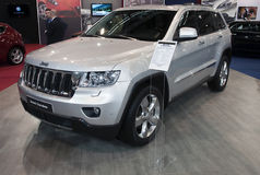 Car Jeep Grand Cherokee Stock Photo