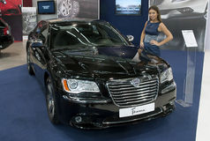 Car  Car Lancia Thema Stock Photo