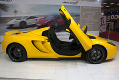 Car Mc Laren MP4-12C Spider-1 Stock Photos