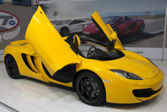Car Mc Laren MP4-12C Spider Stock Photo