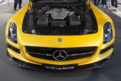 Car Mercedes SLS AMG Coupe Black Series-1 Royalty Free Stock Image