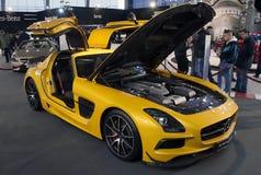 Car Mercedes SLS AMG Coupe Black Series Royalty Free Stock Photos