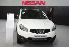 Car Nissan Qashqai 360 Stock Photography