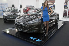 Car Peugeot RCZ Stock Photo