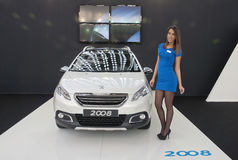 Car Peugeot 2008 Stock Image