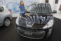 Car Peugeot 4007 Stock Photography