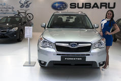 Car Subaru Forester Stock Image