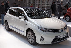Car Toyota Auris Hybrid Stock Image