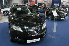 Samochodowy Lancia Ypsilon Obrazy Royalty Free