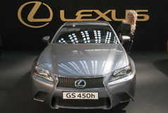 Samochodowy Lexus GS 450h Fotografia Stock