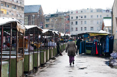 Belgrade market Stock Photography