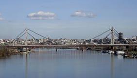 Belgrade miasto w Serbia Obrazy Royalty Free