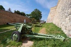 belgrade militärmuseum Arkivbild