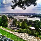 Belgrade. Most beautiful city Royalty Free Stock Photography