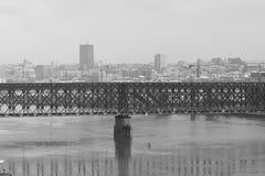 Belgrade noir et blanc photo libre de droits