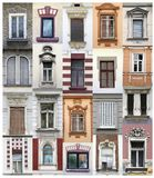 Belgrade okno Fotografia Royalty Free