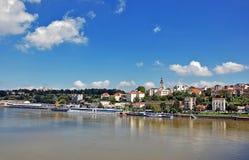 belgrade panorama arkivfoto