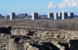 Belgrade panorama Zdjęcie Stock