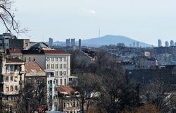 Belgrade panorama Obrazy Stock