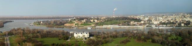 Belgrade panorama Royalty Free Stock Images