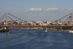 Belgrade panorama Stock Image