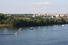 Belgrade panorama Royalty Free Stock Photos