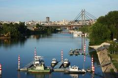 Belgrade panorama Stock Photo