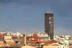 Belgrade panorama Stock Photography