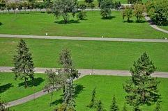 Belgrade park zdjęcie royalty free