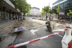 Belgrade przywr?cenie fotografia stock