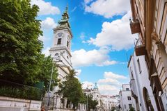Free Belgrade, Serbia - 19 July, 2016: St. Michael S Cathedral, Orthodox Church In The Center Of The City, An Impressive Cultural Monu Royalty Free Stock Images - 104085009