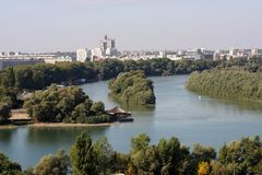 Belgrade, Serbia Stock Photography