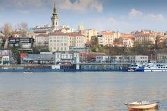 Belgrade Serbia royaltyfri fotografi