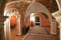 Residence of Serbian Royal family Karadjordjevich in Belgrade Royalty Free Stock Images